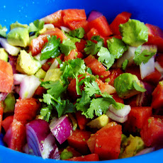 Macho Gazpacho Vegetable Chunk Salad