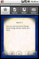 Screenshot of Self-Esteem Meditations