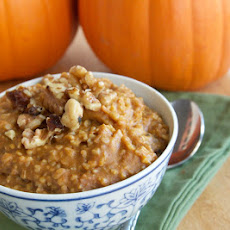Pumpkin Steel Cut Oatmeal