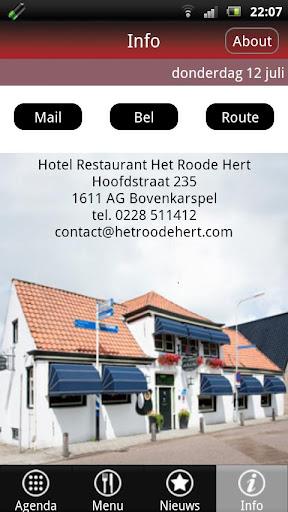 Hotel Rest. Het Roode Hert