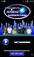 Screenshot of Radio Libertad (Liberty Radio)