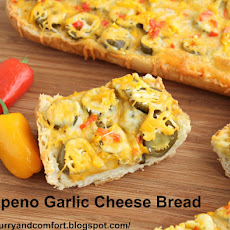 Jalapeno Garlic Cheese Bread