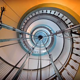 Lighthouse Stairs by Antonio Amen - Buildings & Architecture Other Interior ( stairs, lighthouse, snail )