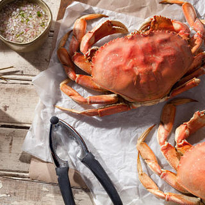 Basic Steamed Dungeness Crab