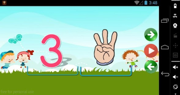 Alphabets & Numbers Tracing - screenshot