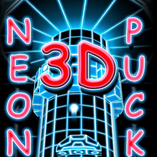 Neon Puck 3D - Unlocked
