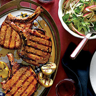 Grilled Pork Chops With Apple Glaze Recipes