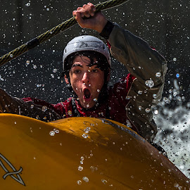 Having Fun by Mike Watts - Sports & Fitness Watersports ( watersports, fun, kayak )
