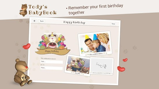 Tody's BabyBook- screenshot