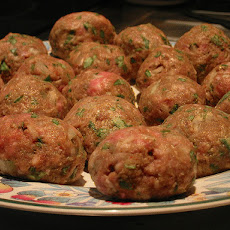 Aromatic Lamb Meatballs