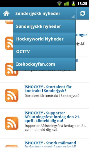 IcehockeyFan News SønderjyskE