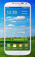 Screenshot of Transparent Screen Wallpaper