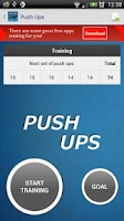 Screenshot of Push Ups - Fitness Trainer