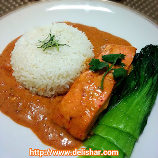 10 Best Coconut Red Curry Sauce Salmon Recipes | Yummly