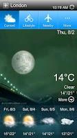 Screenshot of Linpus Weather