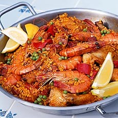 Frying-pan Paella