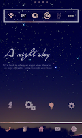 Screenshot of Night Sky Dodol Luncher theme