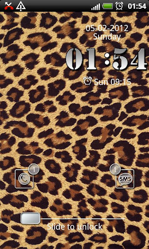 Leopard GO Locker theme