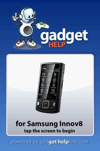Samsung Innov8 - Gadget Help