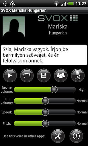 【免費通訊App】SVOX Hungarian/Magyar Mariska-APP點子