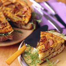 Spanish Onion and Potato Torta