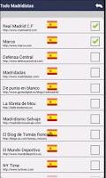 Screenshot of Todo Madridistas