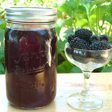 DIY Blackberry Liqueur