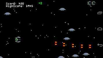 Screenshot of Sigma Fighter: Space Commander