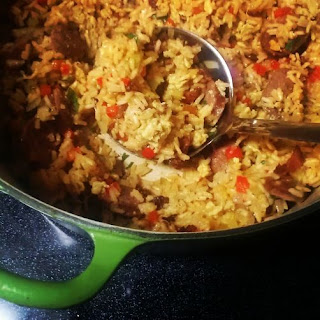 Breakfast for Supper Jambalaya