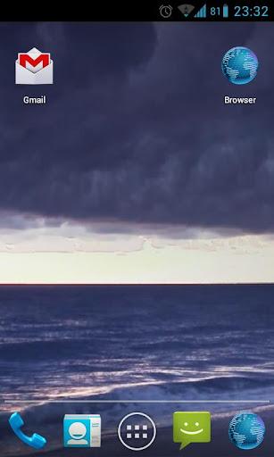 Stormy Ocean Live Wallpaper HD