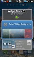 Screenshot of Widget Timer Pro