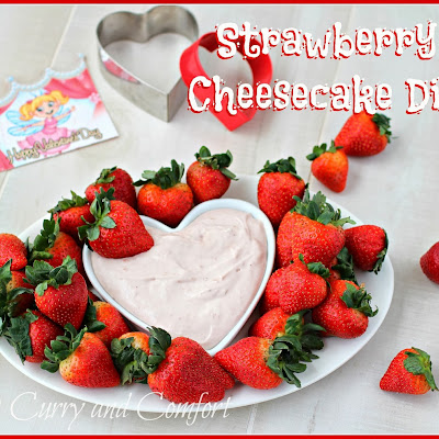 Strawberry Cheesecake Dip (2 Ingredient Dip)