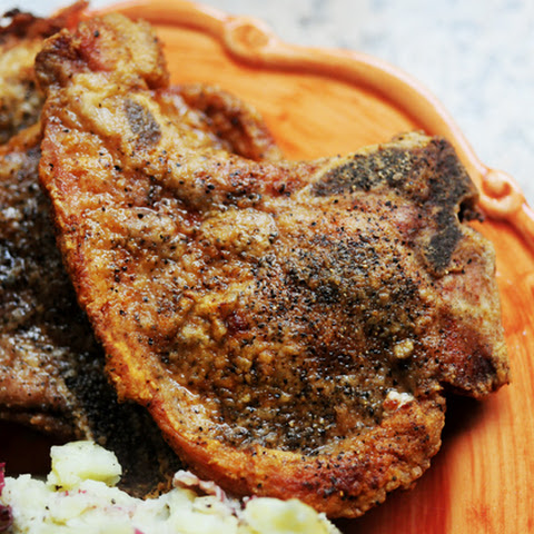 Simple, Pan-Fried Pork Chops