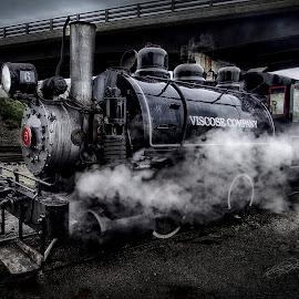 by Chad Ecklof - Transportation Trains ( engine, railroad, locomotive, train, steam )