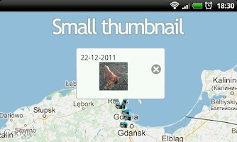 Screenshot of Your Photo Map