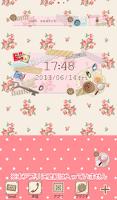 Screenshot of かわいい検索ウィジェット【無料】