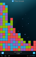 Screenshot of Tiles Break Clickomania