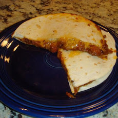 Chili Cheese Dog Quesadillas