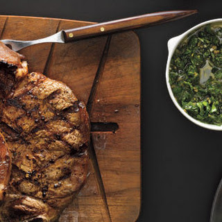 Grilled Steak With Caper Sauce