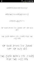 Screenshot of Fonts for FlipFont #14
