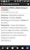 Screenshot of Ofertas de Empleo