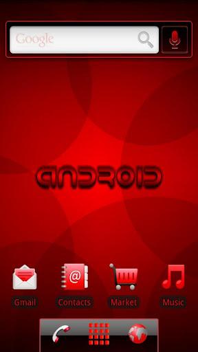 玩個人化App|ADW Theme RRRED免費|APP試玩