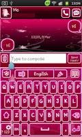 Screenshot of Go Keyboard Fairy Pink
