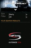 Screenshot of CounterStrike GO Skins