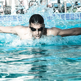 Butterfly Swimming by Amesh Gajjar - Sports & Fitness Swimming (  )