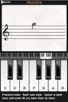 Screenshot of Note Trainer Lite Learn Piano