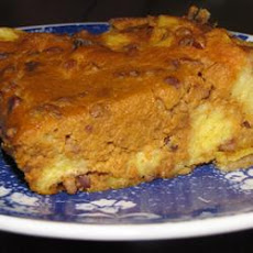 Pumpkin Bread and Pecan Pudding