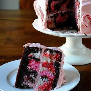 Peppermint Marshmallow Cake