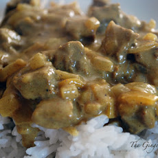 Curry Apple Chicken Saute