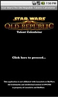 Screenshot of SWTOR Talents Calculator